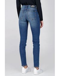 Dr. Denim Regina Organic Mid Blue Jeans