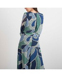 "Marella Dress ""caprera"" - Blue"