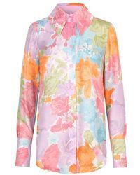 Stine Goya James Shirt - Rosegarden Pastel - Pink