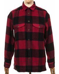 Fjallraven Fjallraven Canada Shirt - Colour: - Red