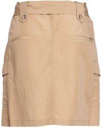 Liu Jo Skirt In Linen - Natural
