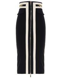Elisabetta Franchi - Other Materials Skirt - Lyst