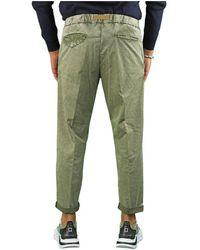 White Sand Sage Chino Pants - Green