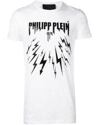 Philipp Plein Men's P19cmtk3241pjy002n01 White Cotton T-shirt