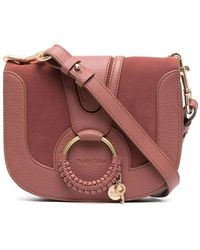 See By Chloé - See By Chlo㉠Women's Chs18as89641727u Brown Leather Shoulder Bag - Lyst