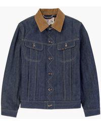 Lee Jeans 101 Storm Rider Jacket - Blue