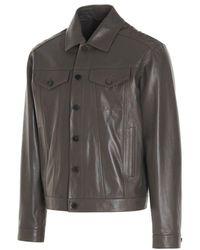 Desa Men's K12645khaki Green Other Materials Outerwear Jacket