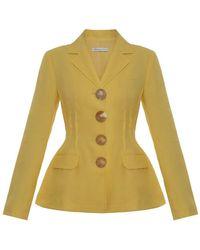 Rejina Pyo Yellow Etta Jacket