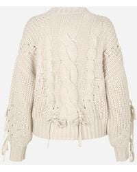 Munthe Marry Knit   Sand   - Natural