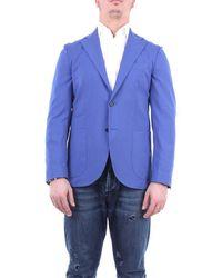 Entre Amis Jackets Blazer Tte - Blue