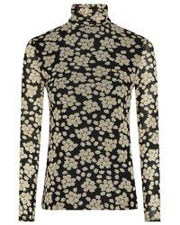 FABIENNE CHAPOT Jane Top Blossom Bouquet Black