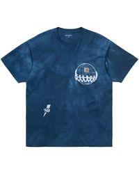 Carhartt S/s Joint Pocket T-shirt Shore / White - Blue