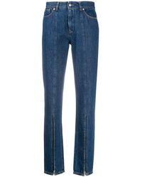 Maison Margiela Women's S62lb0050s30460986 Blue Cotton Jeans