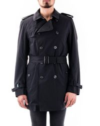 Save The Duck Polyester Trench Coat - Black