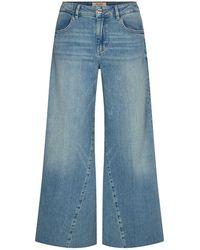 Mos Mosh Reem Wide Jeans - Blue