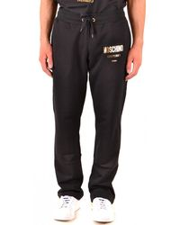 Moschino Pants In Black