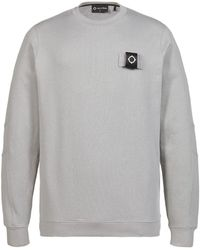 MA.STRUM Mastrum Training Crew Sweatshirt - Grey