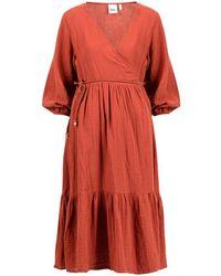 OU. Boutique Stories Dress Ponderus Ark Blush - Multicolour