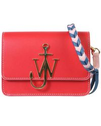 "JW Anderson ""anchor"" Bag - Red"