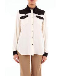 N°21 Nâ°21 Women's G0215111neroepanna Black Acetate Shirt