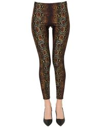 Versace Printed leggings - Black