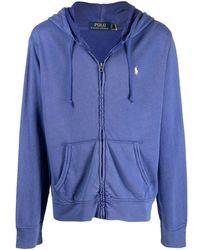 Ralph Lauren Men's 710706348007 Blue Cotton Sweatshirt