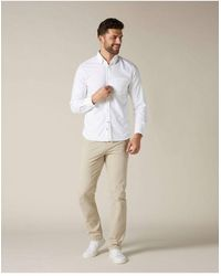 7 For All Mankind Slimmy Chino Weightless - Natural