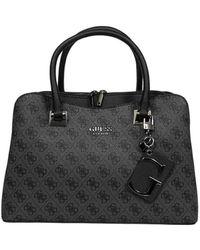 Guess Women's Hwsm7967070coa Black Polyurethane Handbag