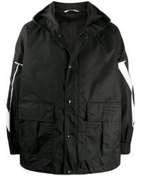 Valentino Polyester Coat - Black