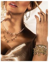 ChloBo Splendid Star Five Days Of Luck Bracelet - Metallic