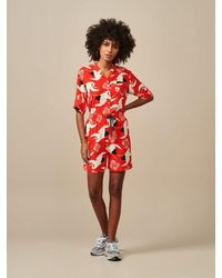 Bellerose Powell Shorts - Red