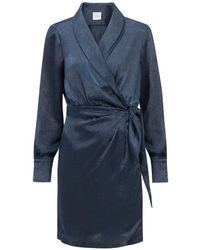 OU. Boutique Stories Dress Rue Charlot - Blue