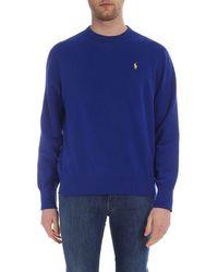 Ralph Lauren Men's 710733123005 Blue Cotton Sweatshirt