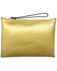 Coccinelle Clutch Bag In Gold - Metallic