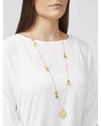 Ashiana London Ashiana Boho Pendant Necklace - Metallic