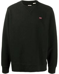 Levi's Levi's Men's 359090003 Black Cotton Sweatshirt