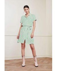 FABIENNE CHAPOT Boyfriend Tess Love Dress - Green