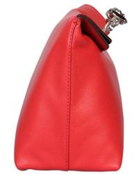 McQ Skull Pouch - Red