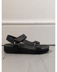 Grenson Lyla Leather Sandals - Black