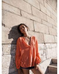Nrby Amy Linen Shirt - Orange