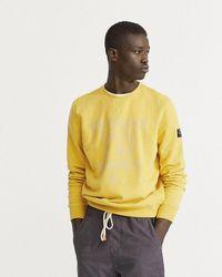 Ecoalf Castell Sweatshirt - Yellow
