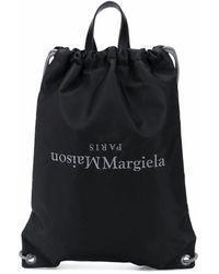 Maison Margiela S55wa0122p0924t8013 Polyamide Backpack - Black