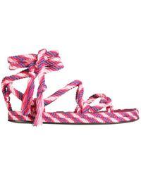 Isabel Marant Erol Sandals - Pink