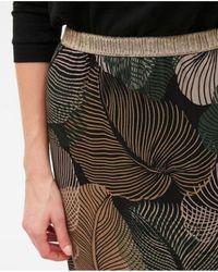 Hartford - Junis Tropical Leaves Skirt - Lyst