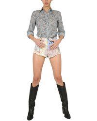 Etro Denim Shorts - Blue