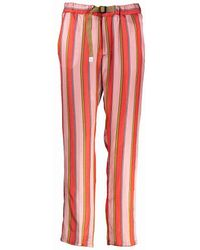 White Sand Marylin Pants - Red