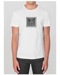 Antony Morato Square Logo T-shirt Colour: White