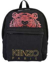 KENZO Backpack With Logo - Black