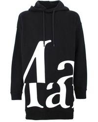 Maison Margiela Women's S51gu0099s25322900 Black Cotton Sweatshirt