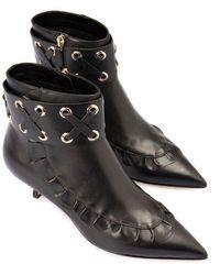 RED Valentino Valentino Garavani Ankle Boot With Zip - Black